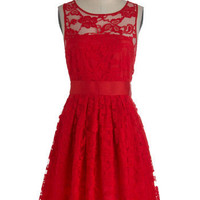 BB Dakota When the Night Comes Dress in Red | Mod Retro Vintage Dresses | ModCloth.com