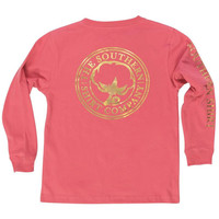 Southern Shirt YOUTH Foil Print Logo L/S Tee