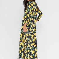 Make Lemonade Printed Duster