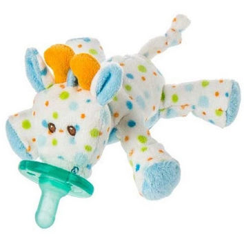 Mary Meyer Wubbanub Stretch Giraffe Pacifier