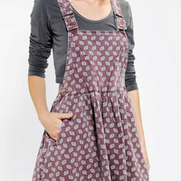 Urban Outfitters - Cassette Society Boulevard Overall Skirt