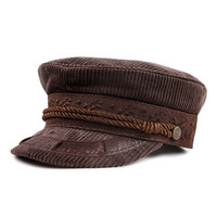 Brixton - Albany Cap | Brown