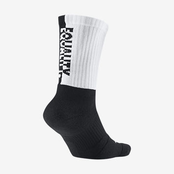 Nike Elite EQUALITY Crew Basketball Socks. Nike.com