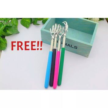 FREE Handy Stainless Pen Clip Bear Claw Back Scratcher