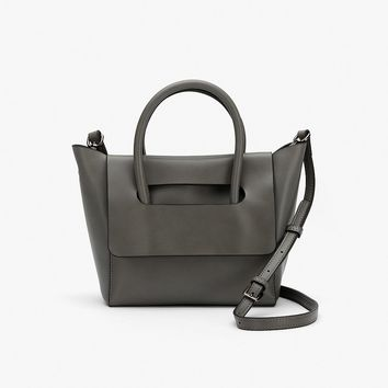 Flap Leather Mini Bag