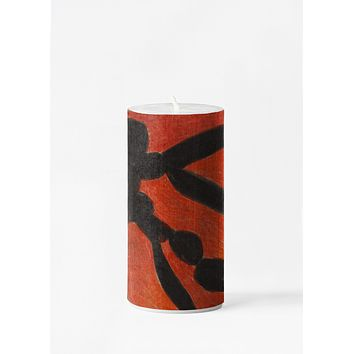 VJ Red & Black Candle