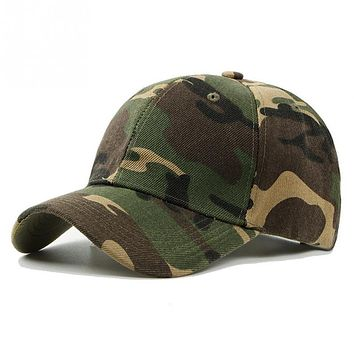 2018 Men Women Army Camouflage Camo Cap Casquette Hat Climbing Baseball Cap Hunting Fishing Desert Hat