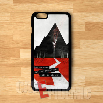 Sleeping with sirens and Quotes -tri for iPhone 6S case, iPhone 5s case, iPhone 6 case, iPhone 4S, Samsung S6 Edge