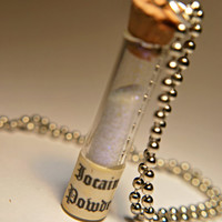Iocane Powder from the Princess Bride necklace SAVE Princess Buttercup