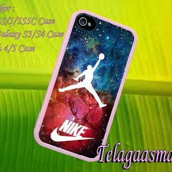 just do It Air Jordan for iPhone 4/4S/5/5S5C Case, Samsung Galaxy S3/S4 Case, iPod Tou