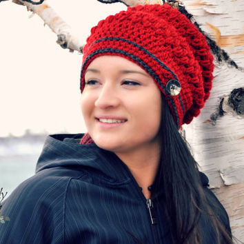 Emma Slouch and Beanie Crochet Pattern pdf