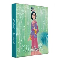 "1"" Mulan 3 Ring Binders from Zazzle.com"
