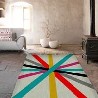 Cool Lines Rugs - Modern Area Rug - Living room rugs - Affordable area rugs