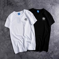 """Adidas"" Unisex Sport Casual Simple Classic Couple Short Sleeve T-shirt Top Tee"