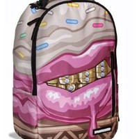 Cupcake Mafia x Sprayground Ice Cream Grillz Book Bag