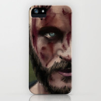 Ragnar Lothbrok iPhone & iPod Case by TwO Owls