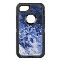 Blue Tree Abstract OtterBox Defender iPhone 7 Case