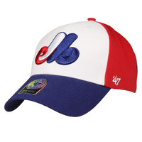 Montreal Expos Cooperstown Tri-Color Cap