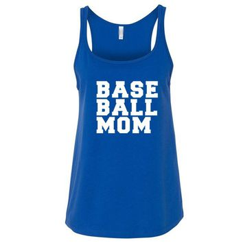 Baseball Mom Relaxed Jersey Tank