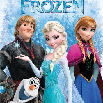 Frozen Fun 40x50 Blanket in Gift Box - Free Shipping in the Continental US!