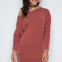 Maureen Dress - Rust