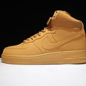 ONETOW Originals Nike Air Force One 1 High Mid '07 LV8 'FLAX' 806403-200