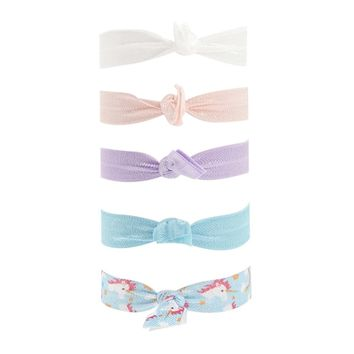 Unicorn Print Hair Tie Set