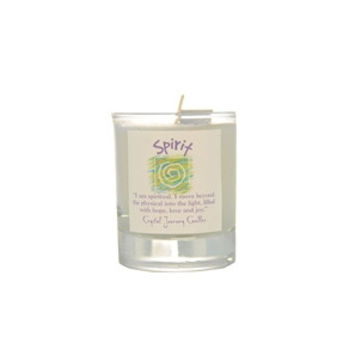 Spirit Soy Glass Votive Candle