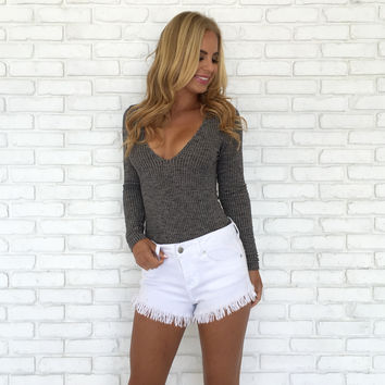 Look The Part Knit Bodysuit