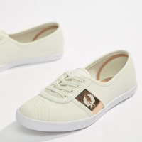 Fred Perry Aubrey Leather Sneakers at asos.com