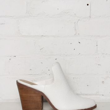 Chinese Laundry Springfield Backless Bootie - White