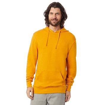 Alternative Apparel - Challenger Washed French Terry Pullover Stay Gold Hoodie