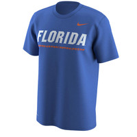 Men's Nike Royal Florida Gators Week Zero Trainer Hook Performance T-Shirt