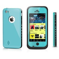 Apple iPhone 5C case,SmartBB(TM)Waterproof Shockproof Dirtproof Snowproof Protection Case Cover Only for Apple iPhone 5C(aqua blue)