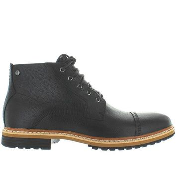 LMFONIG Timberland Earthkeepers West Haven Cap Toe - Waterproof Black Leather Chukka Boot