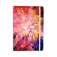 """Ebi Emporium """"Out There"""" Pink Yellow Everything Notebook"""