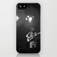 Ed Sheeran (B&W) - Live in Philly iPhone Case by Chris Klemens | Society6