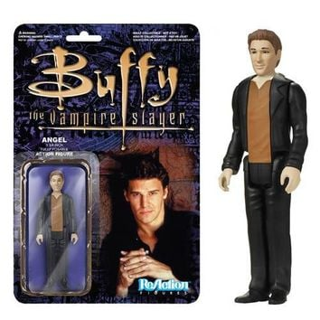Buffy the Vampire Slayer Angel ReAction 3 3/4-Inch Retro Action Figure