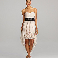 Hailey by Adrianna Papell Chiffon Hi-Low Dress | Dillards.com