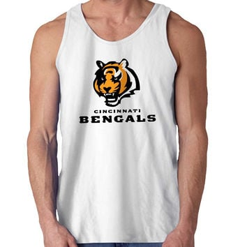 cincinnati bengals For Mens Tank Top Fast Shipping For USA special christmas ***