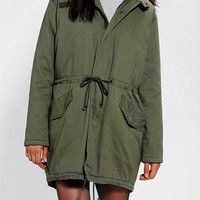 Urban Outfitters - BDG Bad Gal Hooded Canvas Parka