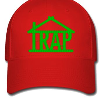 trap house g Bucket Hat - Flexfit Baseball Cap
