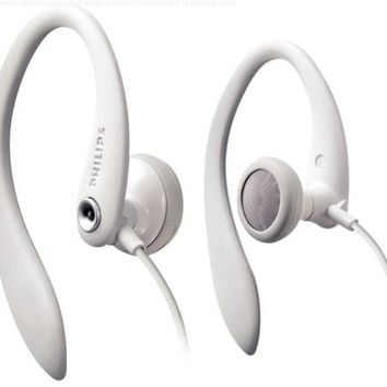 Philips SHS3200WT/37 Flexible Earhook Headphones White