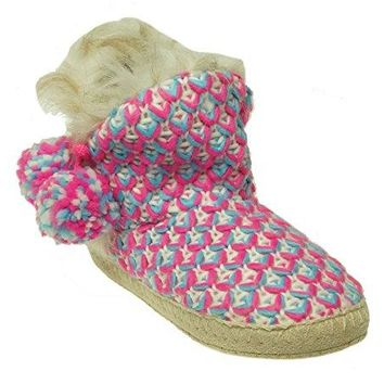 Jenni Critter Womens Slippers Knits