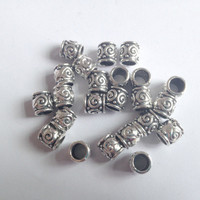 Free Shipping 20Pcs/Lot  thickness dread dreadlock Bead  cuff clip approx 5.8mm hole clip