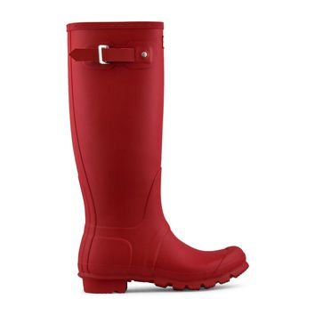 Hunter Original Tall Rain Boot Women's - Military Red