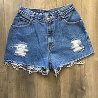 Vintage Gitano High Waisted Jean Shorts  Size 5/6