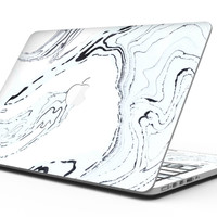 Blue 19 Textured Marble - MacBook Pro with Retina Display Full-Coverage Skin Kit