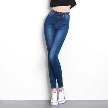 Jeans for women Jeans With High Waist  Jeans  Woman High Elastic Plus Size Women Jeans