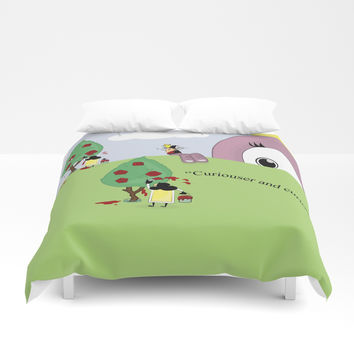 Off with Her Head! Duvet Cover by lalainelim